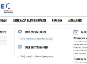 Portal i platforma rezerwacyjna RezerwacjeŚwidnica.pl