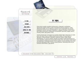 Strona www serwisu notebooków Saraceni - o nas