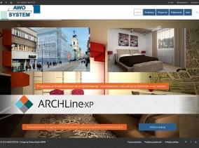 Strona www Awo System autorstwa Entera Studio WWW - programy ArchlineXP