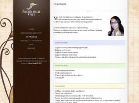 Personalna strona www lekarz-psycholog zaprojektowana przez Entera Studio WWW - o lekarzu