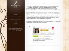 Personalna strona www lekarz-psycholog zaprojektowana przez Entera Studio WWW - strona startowa