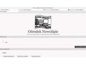 Strona www Ośrodka Nowolipie zgodna z WCAG 2.0, zaprojektowana przez Entera Studio WWW - układ dla czytników