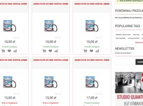 Foto-Tip.pl - kategoria produktów