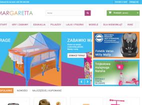 Entera Studio WWW przedstwia sklep Margaretta