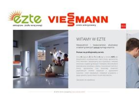 EZTE - strona www pełna energii - strona startowa