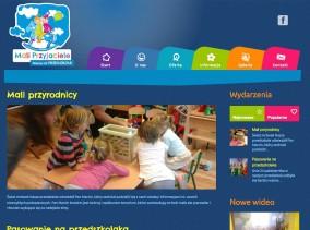 Strona www przedszkola Mali Przyjaciele - wydarzenia