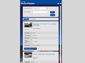 Aplikacja Prins Finder - wyszukiwanie produktu