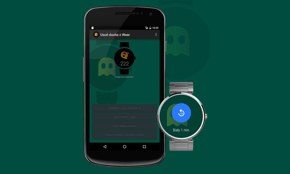 Usuń ducha z systemu Android Wear