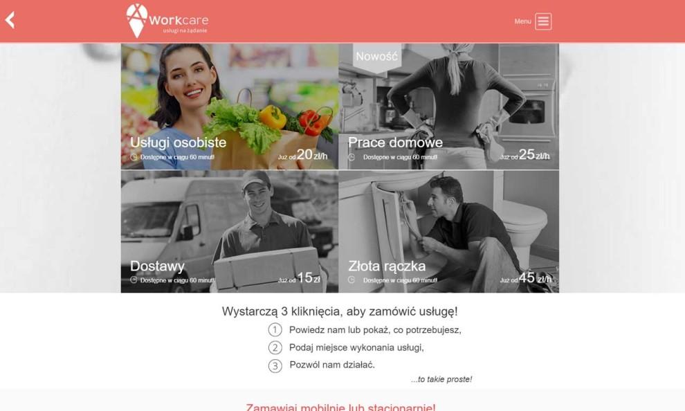 Workcare - wybór usług
