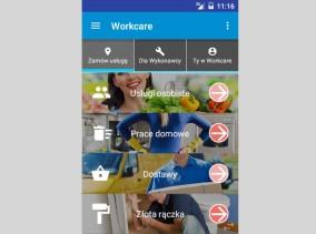 Workcare - aplikacja Android