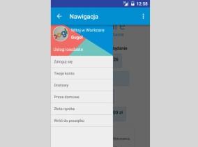 Workcare - aplikacja Twoje konto