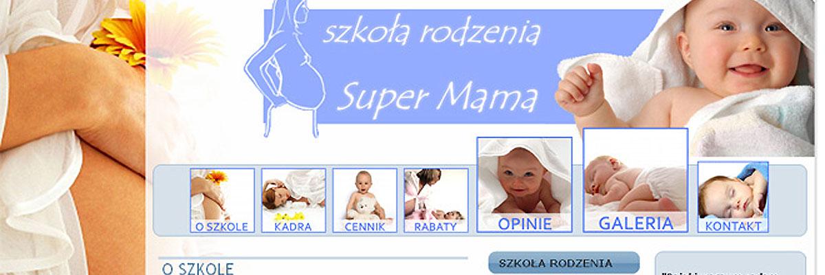 Strona www Super Mama 2010