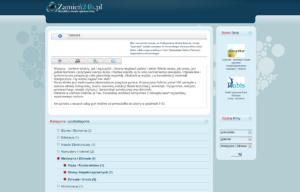 Portal ogłoszeniowy Zamien24 - wpis