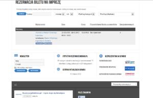 Portal internetowy rezerwacjeswidnica.pl - katalog imprez