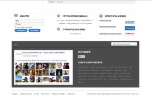 Portal internetowy rezerwacjeswidnica.pl - integracja z Facebookiem
