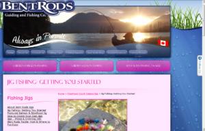 Sklep internetowy Bent Rods - karta produktu