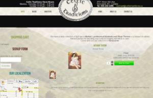 Sklep internetowy Celtic Traditions - sklep z czapkami