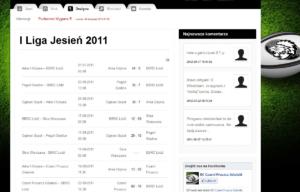Portal internetowy Czarni Pruszcz Gdański - statystyki spotkań