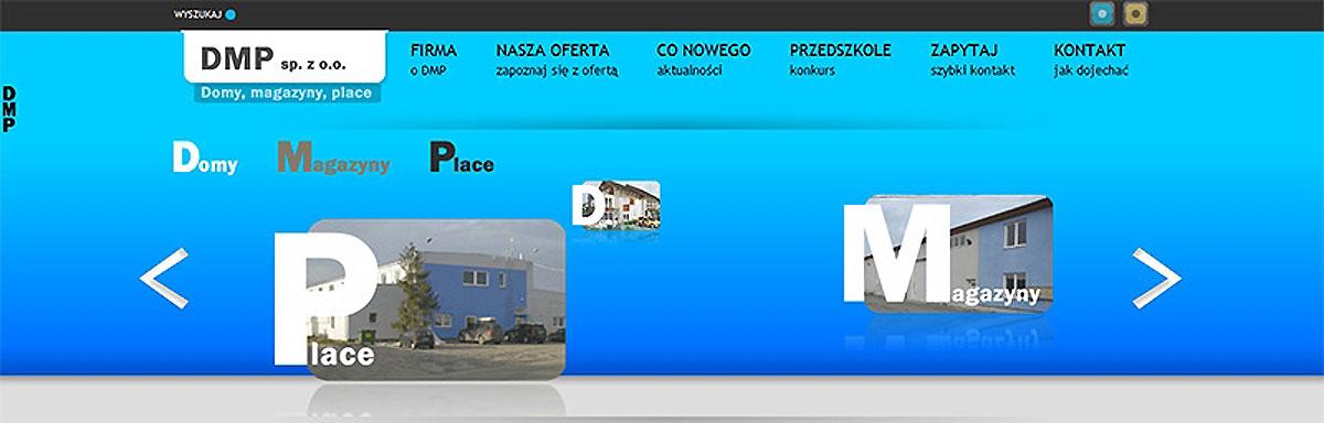 Strona www firmy DMP