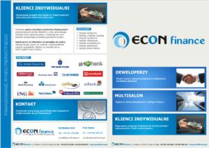 Folder reklamowy Econ Finance - str. 1-4