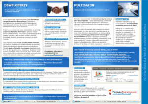 Folder reklamowy Econ Finance - str. 2-3