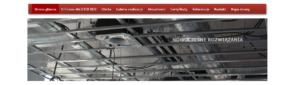 Strona www firmy Majster Bud - strona główna