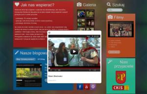 Strona www Polskiego Stowarzyszenia na rzecz Osób z Upośledzeniem Umysłowym - wideo