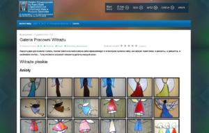 Strona www Polskiego Stowarzyszenia na rzecz Osób z Upośledzeniem Umysłowym - galeria