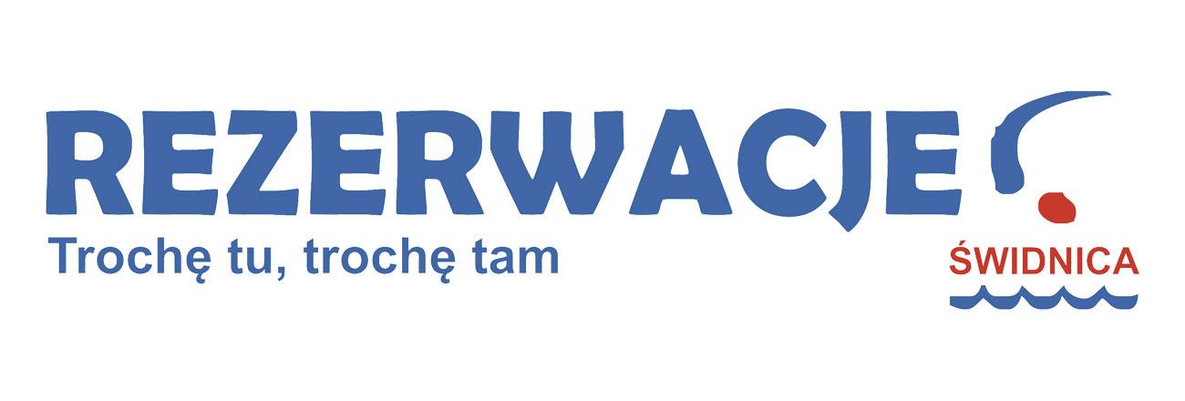 Logo platformy rezerwacyjnej RezerwacjeSwidnica.pl