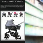 Venicci - produkty w 3D