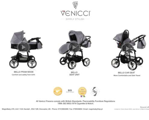 Prezentacja multimedialna marki Venicci