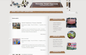 Blog WTZ PSOUU zaprojektowany przez Entera Studio WWW - blog