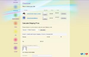 Sklep internetowy Yoga Sandals - zamówienie