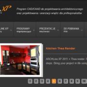 Strona www programu ArchlineXP