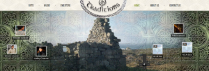 Strona www i sklep internetowy marki Celtic Traditions