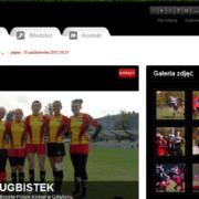 Portal internetowy klubu rugby Czarni Pruszcz Gdański