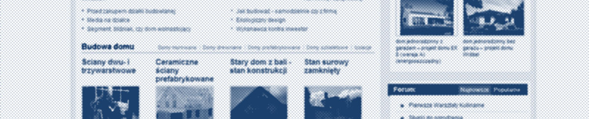 E-budownictwo - piszemy teksty do portali internetowych