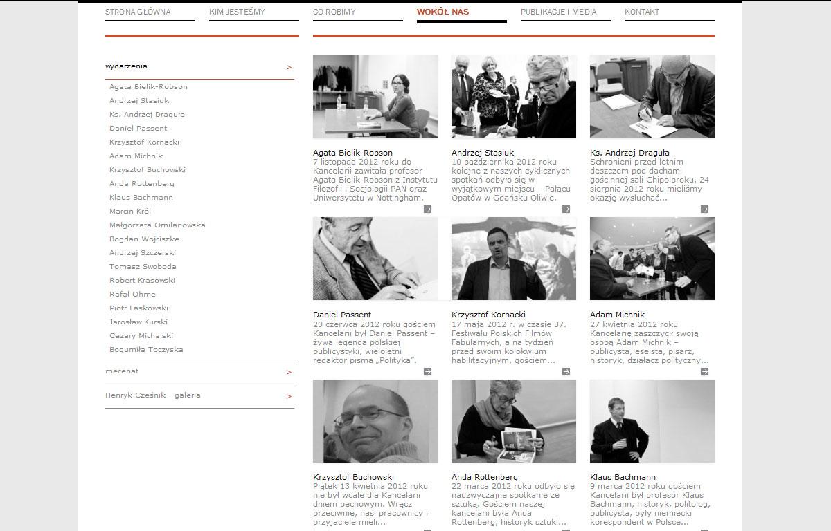 Strona www kancelarii Kopoczynski adwokaci i radcowie prawni - aktualności
