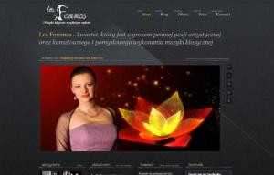 Strona www kwartetu Les Femmes - prezentacja artystek