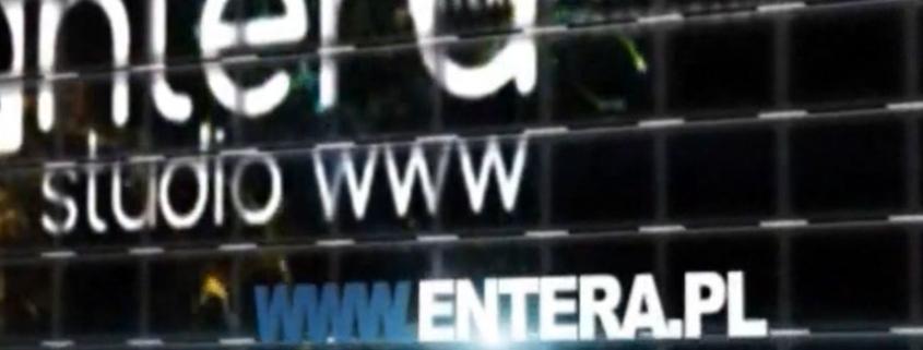 Nowa strona www Entera Studio WWW