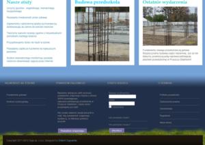 Strona www Przedszkola Nad Rzeczką - dla rodziców