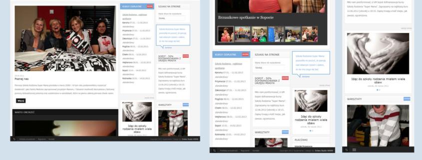 Responsywna strona www - tak to działa