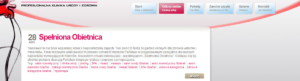 Tagi na stronie www kliniki Spameed