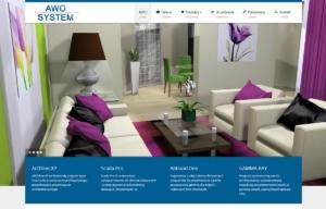 Strona www Awo System autorstwa Entera Studio WWW - strona główna