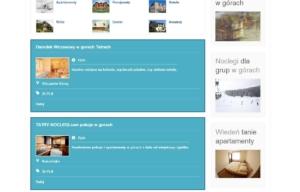 Katalog kwater eNoclegi.biz autorstwa Entera Studio WWW - przegląd ogłoszeń