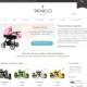 Sklep internetowy marki Venicci zaprojektowany przez Entera Studio WWW - strona startowa