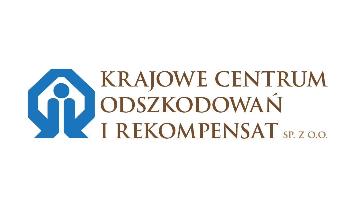 Logotyp Krajowego Centrum Odszkodowań i Rekompensat
