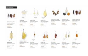 Sklep internetowy z bursztynową biżuterią - przegląd produktów
