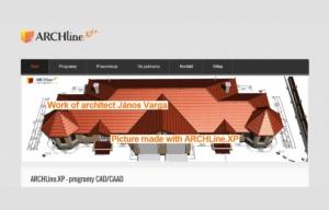 Odświeżona strona www ARCHlineXP - strona startowa