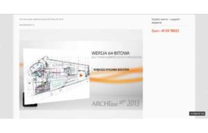 Odświeżona strona www ARCHlineXP - prezentacje wideo